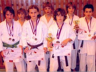 Úspěšný oddíl karate.