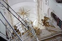 Poutní chrám Panny Marie na Chlumku v Luži se otevře po rekonstrukci interiéru.