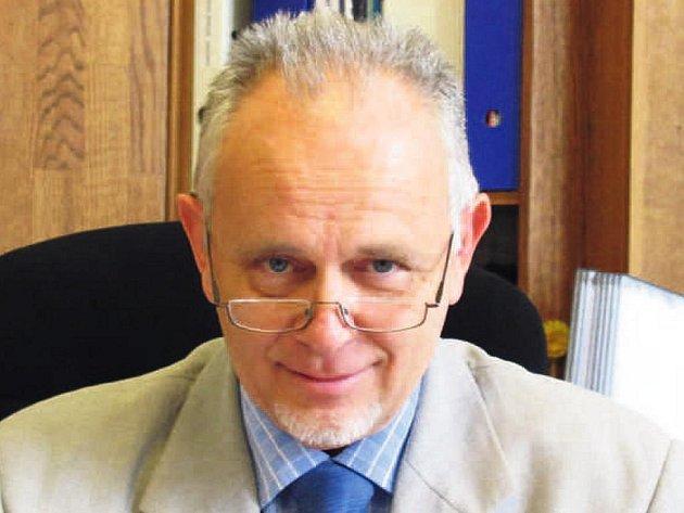 Václav Volejník, ředitel Hamzovy odborné léčebny pro děti a dospělé.
