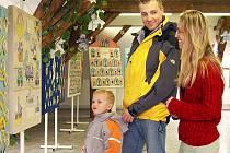 Výstava Jak jsem chodil do školky v třemošnické galerii.