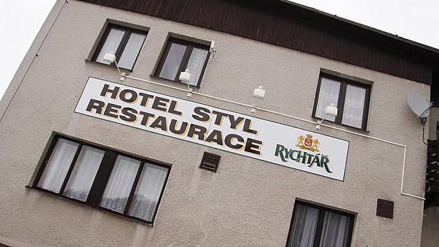 Hotel Styl v Hlinsku.