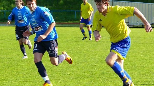 Jistotu do domácích řad vnesl třetím gólem Vácha.