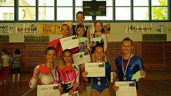 Gymnastky přivezly sedm medailí.