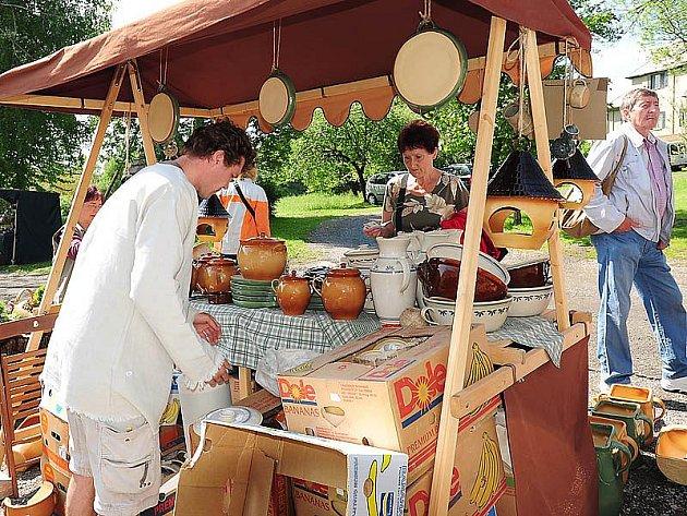 Ve skanzenu na Veselém Kopci se konal program Hrnčířská sobota.