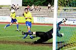 Ondřej Hauf, před druhým gólem.