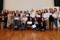 Donátoři a zástupci neziskovek na Burze filantropie