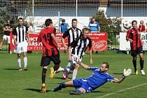 V utkání fotbalové ČFL porazili fotbalisté MFK Chrudim Admiru Praha 3:0.