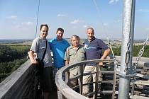 Hasiči z partnerského nizozemského města Ede na návštěvě u hasičů z SDH Topol.
