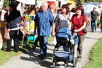 ŽELEZNOHORSKÝ REGION se významněji prezentoval také při loňském Babím létu na Konopáči.