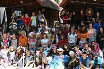 Tábor Kutřín slaví letos patnácté výročí.