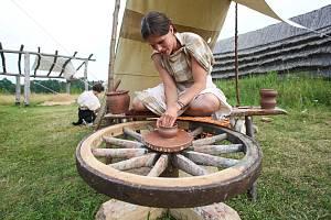 V Zemi Keltů v Nasavrkách vyvrcholila celotýdenní oslava keltského svátku Lughnasad