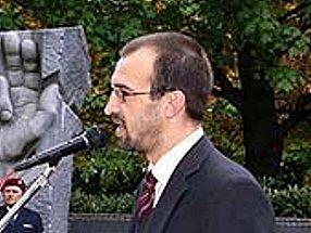 Starosta Chrudimě Jan Čechlovský.