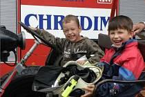 Hasiči SDH Topol pořádal pro děti požárně bezpečnostní den.