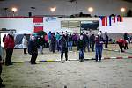 V sobotu se v kryté jízdárně slatiňanského hřebčína konala mezinárodní soutěž registrovaných trojic O pohár města Slatiňan a Cenu starokladrubského vraníka.