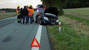 Nehoda na silnici I/17 za Chroustovicemi