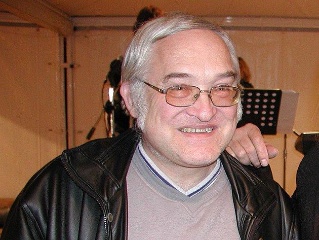 Sportovní redaktor Petr Novák.