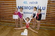 Děvčátka z TJ Sokol Chrudim reprezentovala oddíl v rámci vzpomínkového závodu Lídy Pejchové.