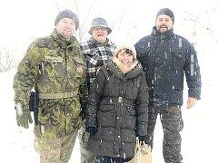 Od pátku do neděle se v Železných horách nad Třemošnicí uskutečnilo tradiční Zimní táboření na hradě Lichnici.