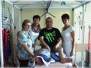 Čtyřiatřicetiletý Aleš Nekvinda z Krouny trpí spinální svalovou atrofií Kugelberg Welander.