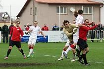 O vyrovnávací gól Chrudimi se postaral Jiří Adámek.