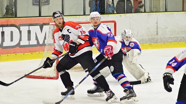 1. zápas semifinále HC Chrudim - HC Chotěboř