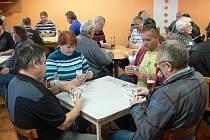 Již 8. předvánoční turnaj v mariáši se tentokrát konal v mycím centru v Pišťovech.