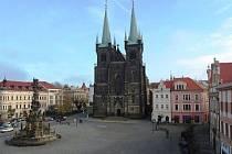 Mezi sledované lokality patří i Resselovo náměstí. Ilustrační foto