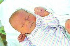 JAKUB FRÁNER (4,05 kg a 54 cm) je od 7.2. od 17:32 po 3leté Nelince jméno dalšího miminka Jany a Romana Fránerových z Popovce u Luže.