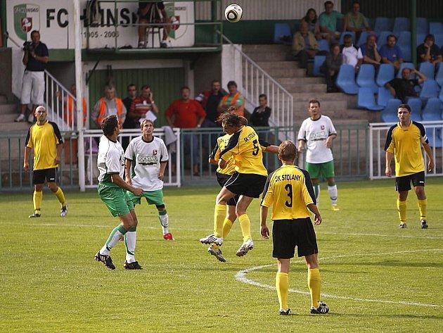 Krajský přebor: Hlinsko porazilo v derby úvodního kola Stolany 1:0 gólem Jůna.