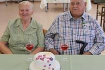 Miroslava a Zdeněk oslavili diamantovou svatbu.