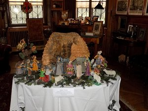 Vánoce na zámku i v pozdámčí ve Slatiňanech.