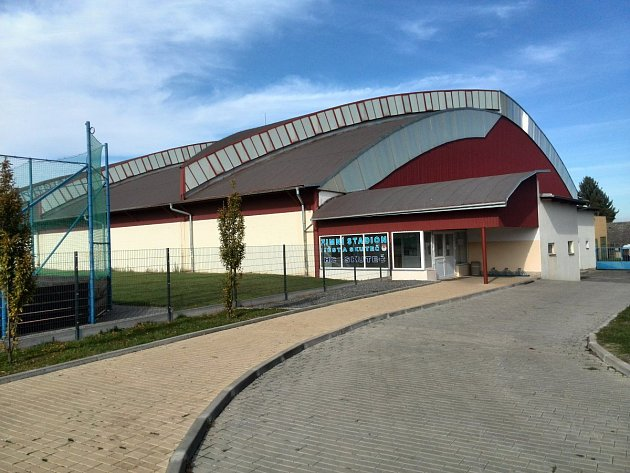 Zimní stadion ve Skutči.