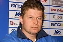 Trenér české futsalové reprezentace Tomáš Neumann.