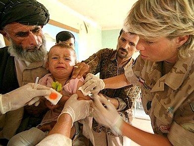 Očkování.