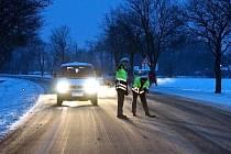 Na silnici mezi Chrudimí a Slatiňany byl v sobotu 19. ledna ráno sražen chodec.