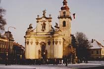 Dobová fotografie z Heřmanova Městce z přelomu roku 1989 a 1990.