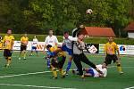 Z fotbalového utkání I. B třídy AFK Chrudim B - Prosetín.