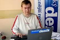 Jiří Stuna hostem on-line rozhovoru Chrudimského deníku.