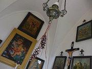 Kaplička ve Vranově - čelní obraz Panny Marie