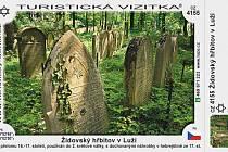 Turistická vizitka židovského hřbitova v Luži.
