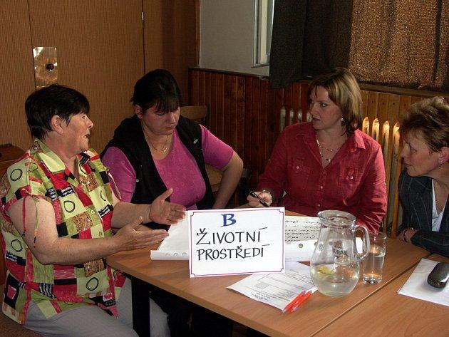 Hlinečtí diskutovali v otevřeném fóru nad Deseti problémy města Hlinska.