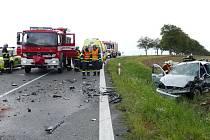 Tragická nehoda na silnici mezi Kočí a Chrudimí