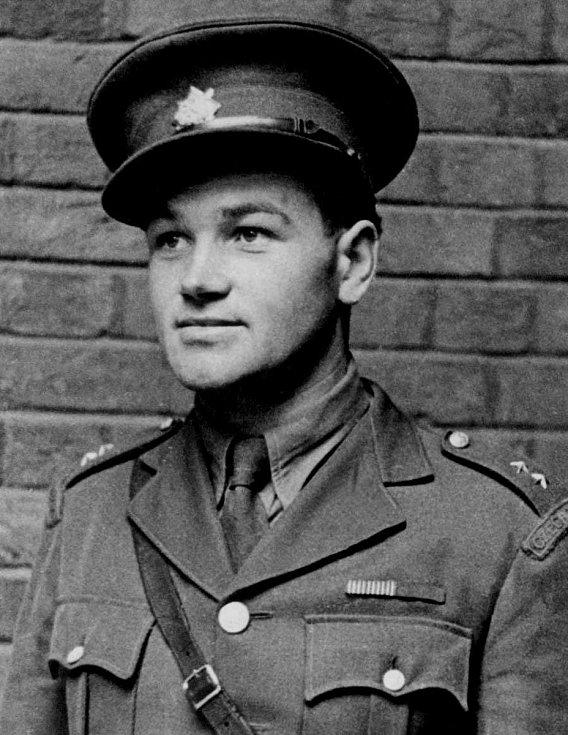 Rotmistr Jan Kubiš (24. 6. 1913 - 18. 6. 1942).