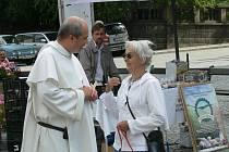 Do Chrudimi zavítala katolická misie dominikánského řádu nazvaná Týden porozumění.