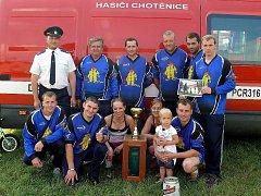 Mezi muži zvítězilo mužstvo z SDH Chotěnice.