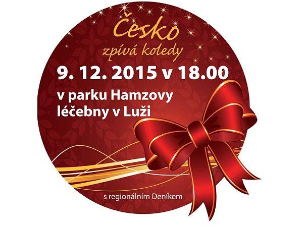 ČESKO ZPÍVÁ KOLEDY 2015: vparku Hamzovy léčebny vLuži Košumberku.