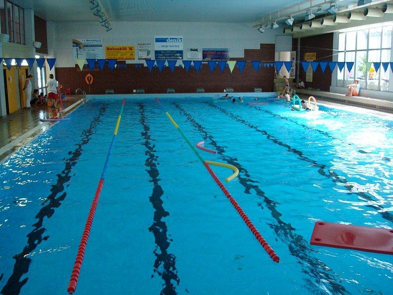 Krytý bazén v Chrudimi
