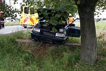 Nehoda u železničního přejezdu v Bylanech, 19.8.2021