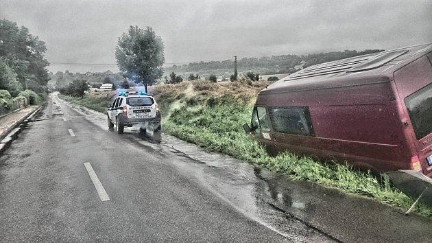 Nehoda u Luže