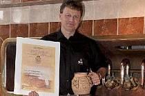 Sládek Milan Morávek má z druhého místa v České republice velkou radost.